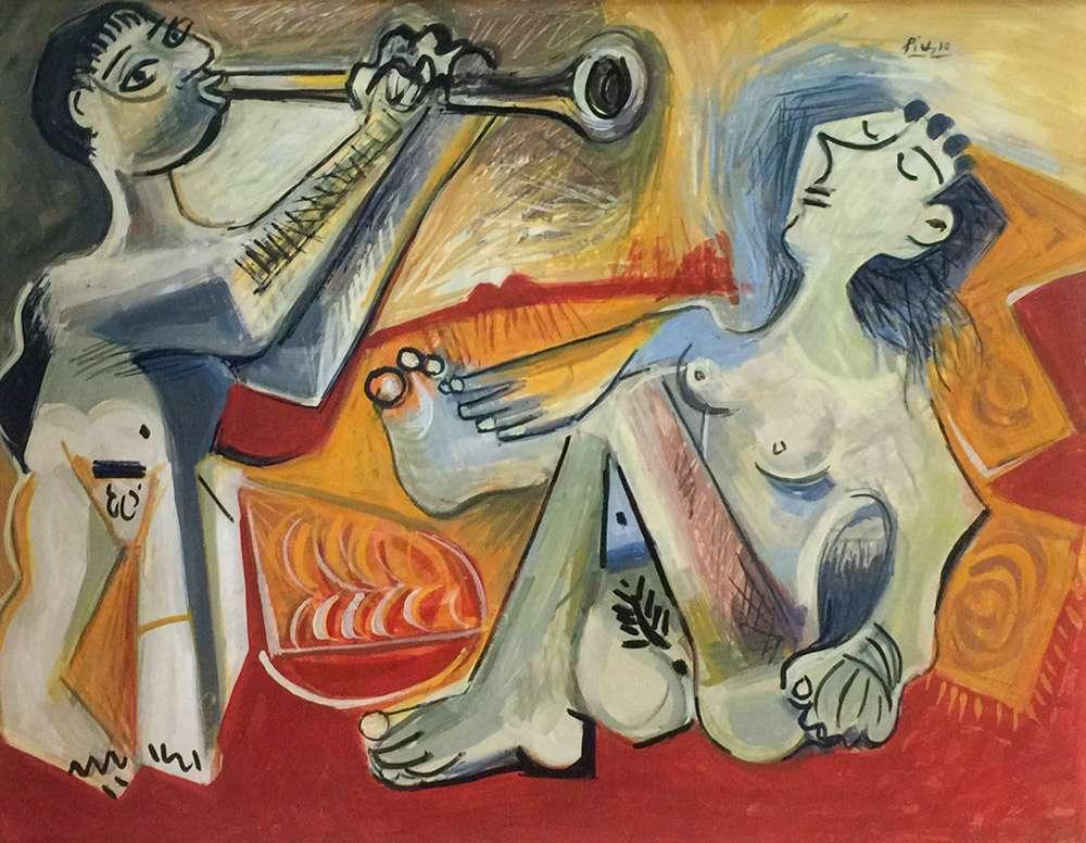 Fake-Ibiza-Elmyr-de-Hory-The-Trumpet-Player-by-Picasso