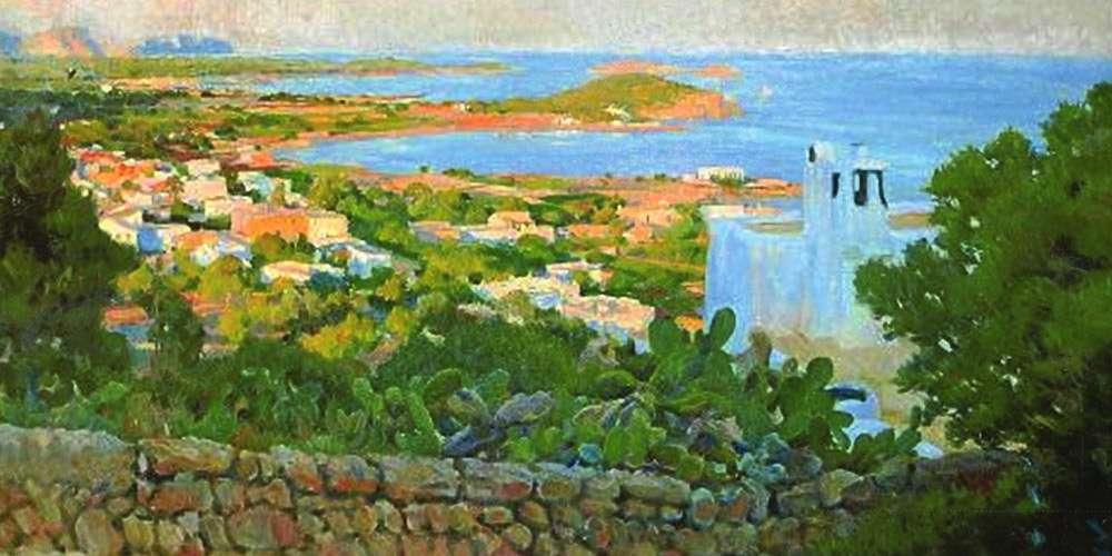 Rigoberto Soler. Santa Eularia Ibiza.