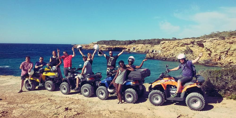 Quad bike tours with E-move
