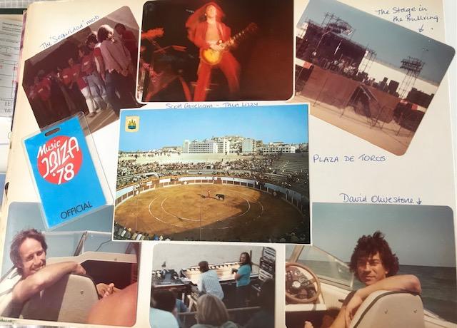 Music Ibiza 1978. Bob Marley & The Wailers. Thin Lizzy.
